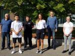 Drei neue Auszubildende im Grünwalder Freizeitpark