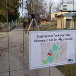 """Neue Wegeführung im Freizeitpark auf Grund der Baustelle """"Baderweiterung"""""""